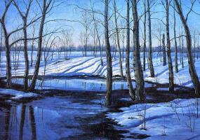 Ора Маринюк. Зимний пейзаж