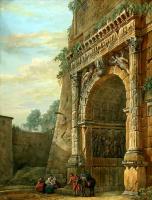 Шарль-Луи Клериссо. Триумфальная арка Тита в Риме