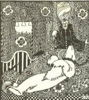 Кей Нильсен. Иллюстрация к  сказке  На восток от солнца, на запад от луны 18