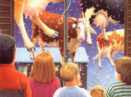 Даниэль Лейн. Рождественские коровы 2