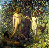 Павел Попов. Адам и Ева