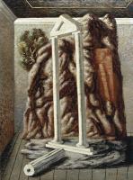 Джорджо де Кирико. Храм и лес в комнате