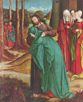 Bernhard Strigel. The parting of Christ's mother