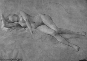 Gustav Klimt. Nude