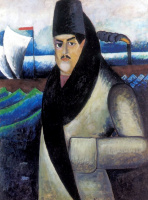 Ilya Ivanovich Mashkov. Self-portrait