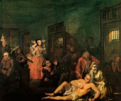 William Hogarth. Mota's career. Madhouse