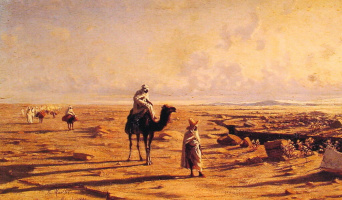Рейнгольд фон Моеллер. Пустыня Кавалькада