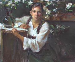 Даниэль Герхартц. Цветение