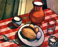Nikolai Efimovich Kuznetsov. Breakfast (loaf)