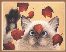 Лоуэлл Эрреро. Осенние листья