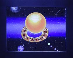 Matrix in astrological measurement.