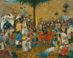 Ричард Дадд. Побег из Египта