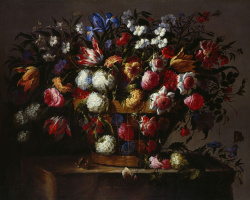 Juan de Arellano. Floral still life