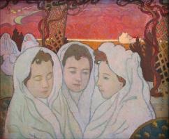 Maurice Denis. Triple Portrait of Marthe