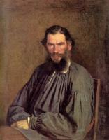 Иван Николаевич Крамской. Портрет писателя Льва Николаевича Толстого