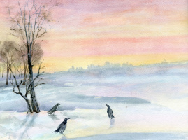 Smbat Arayevich Bagdasaryan. Crows