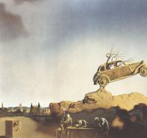 Salvador Dali. Phenomenon city of Delft