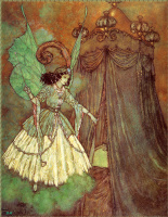 Эдмунд Дюлак. Красавица и чудовище. Фея