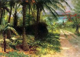 Альберт Бирштадт. Тропический пейзаж