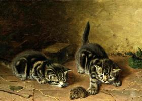Генри Гарацио   Коулдри. Котята на охоте
