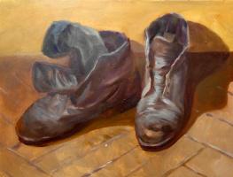 Marianna Maslova. Old shoes