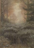 Джон Эверетт Милле. Лесной пейзаж: тающая роса