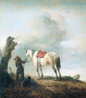 Питер Воуверман. Конь