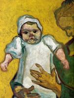 Винсент Ван Гог. Августина Рулен со своим молочным сыном