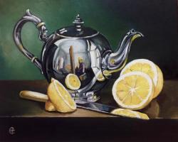 Надежда Sосновикова. Натюрморт с чайником