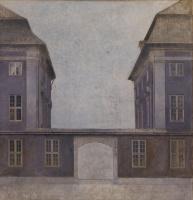 Вильгельм Хаммерсхёй. Здания Азиатской компании на улице Святой Анны, Копенгаген