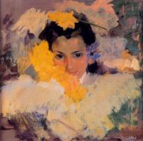 Хоакин Соролья (Соройя). Девочка с цветами