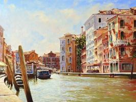 Roman Fedorovich Fedosenko. Venice afternoon