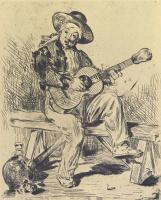 Эдуар Мане. Гитарист