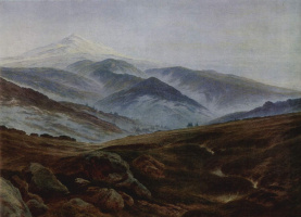 Caspar David Friedrich. The memory of the mountains