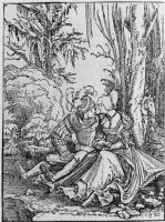 Альбрехт Альтдорфер. Любовная пара в лесу