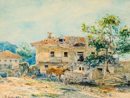 Alexey Petrovich Bogolyubov. Village house