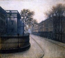 Вильгельм Хаммерсхёй. Улица в Лондоне