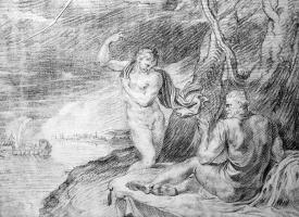 Тхулден,  Тхеодур  Ван Тхулн. Минерва и Одиссей смотрят на Телемаха
