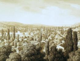 Карл фон Кюгельген. Вид Бахчисарая