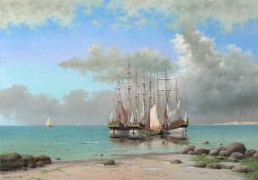 Vasily Ivanovich Gribennikov. Sea view