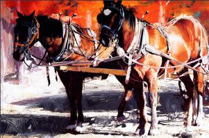 Олег Ставровски. Коренные лошади