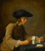Jean Baptiste Simeon Chardin. House of cards