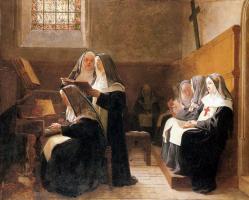 Жан Жорж Вибер. Монастырь