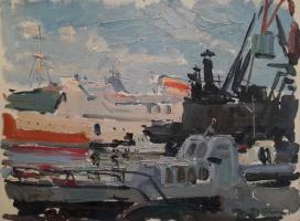 Павел Петрович Токмаков (1924-2002). Одесский порт