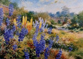 Ричард Тратт. Голубые цветы