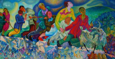 Михаил Самуилович Чернявский. Слепые    2005
