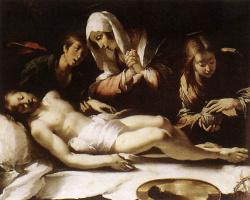 Бернардо Строцци. Оплакивание Христа