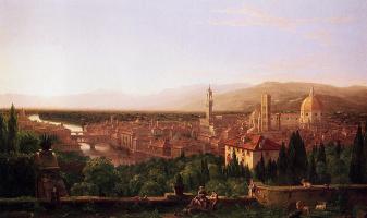 Томас Коул. Флоренция