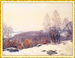 Уилсон Ирвайн. Зима в Лайме