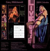 Грег Хильдебрандт. Обложка календаря
